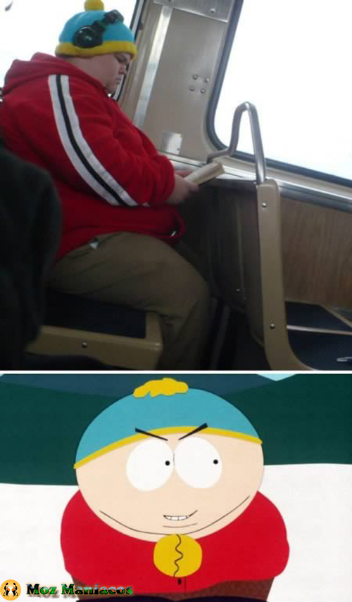 "Eric Cartman de ""South Park"""