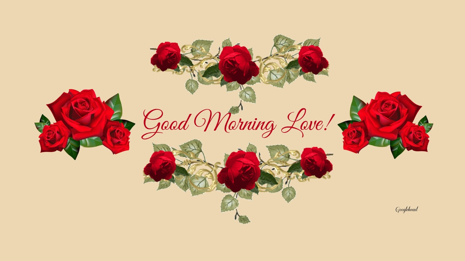Good Morning Love Images with Rose