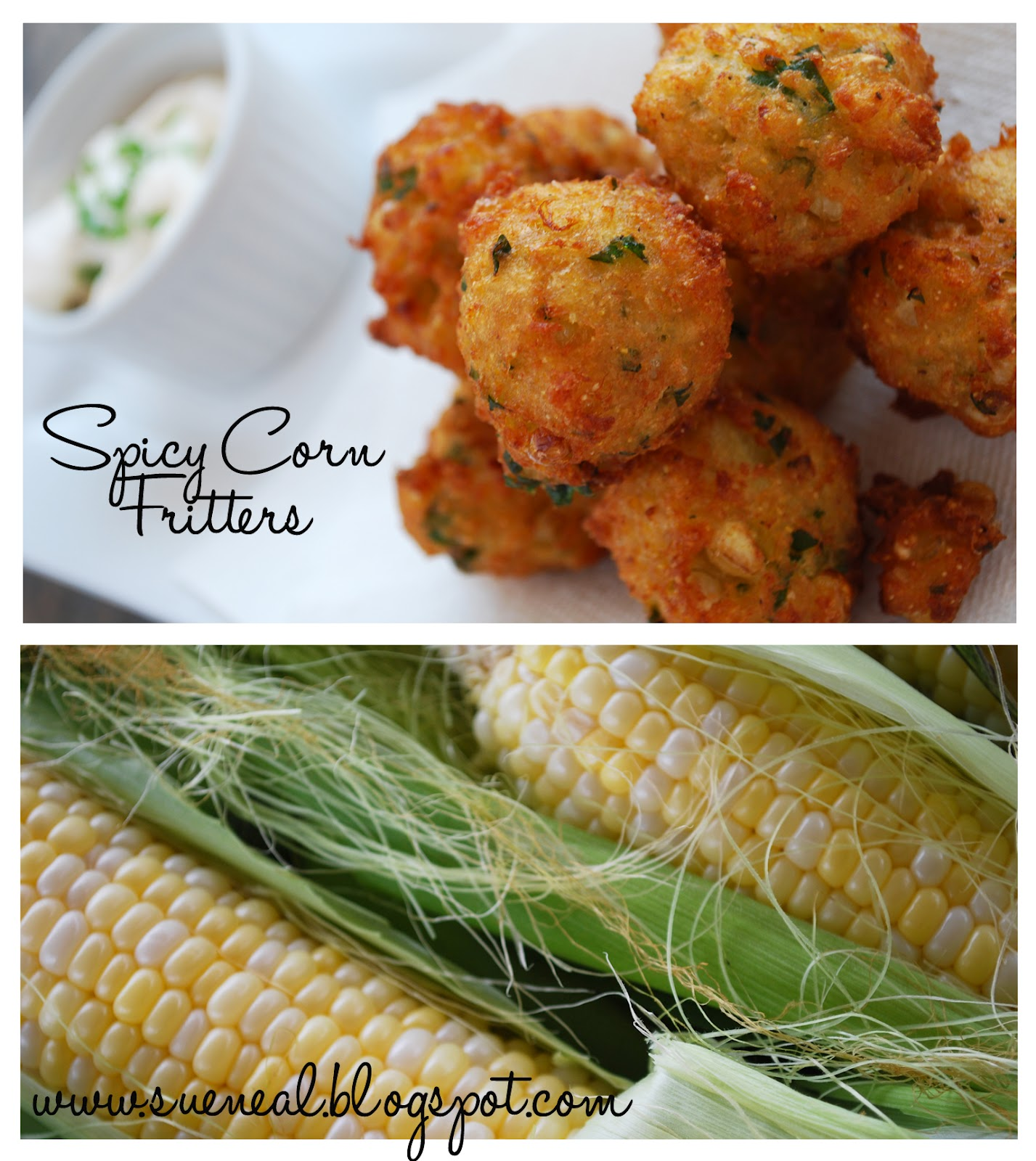Spicy Corn Fritters Recipe — Dishmaps