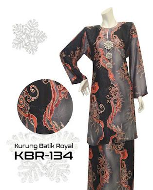 BAJU KURUNG PAHANG BATIK ROYAL ( RM120 )