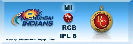 mi vs rcb watch full highlight and mi vs rcb scorecards