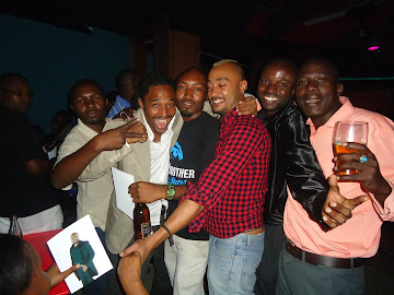 MWISHO MWAMPAMBA,SEIF KABELELE,RICHARD-BBA WINNER 2007 AND FANS