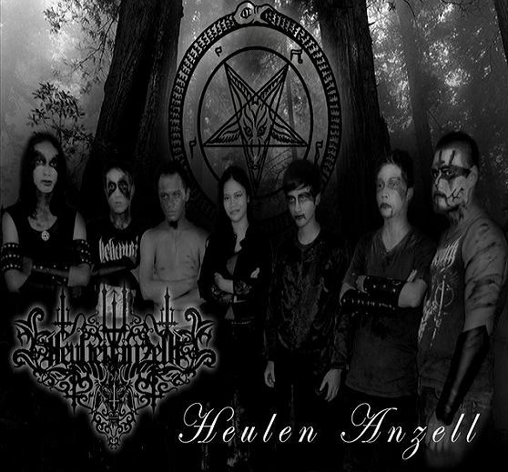 HEULEN ANZELL Gothic Black Metal Band Profil Download Mp3