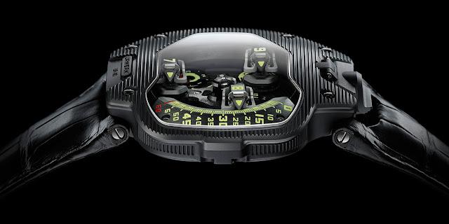 Urwerk UR-110 ST Watch side