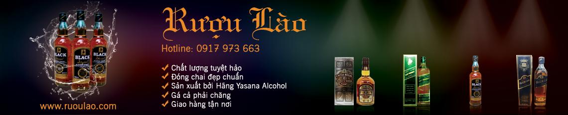 Cửa hàng Rượu Lào chuyên Bán buôn, bán lẻ các loại Rượu Lào, Bia Lào
