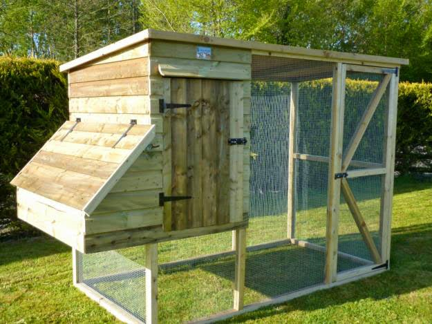 Free chicken coop for Simple easy to build house plans