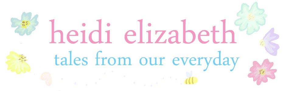 Heidi-Elizabeth - family blog from the UK