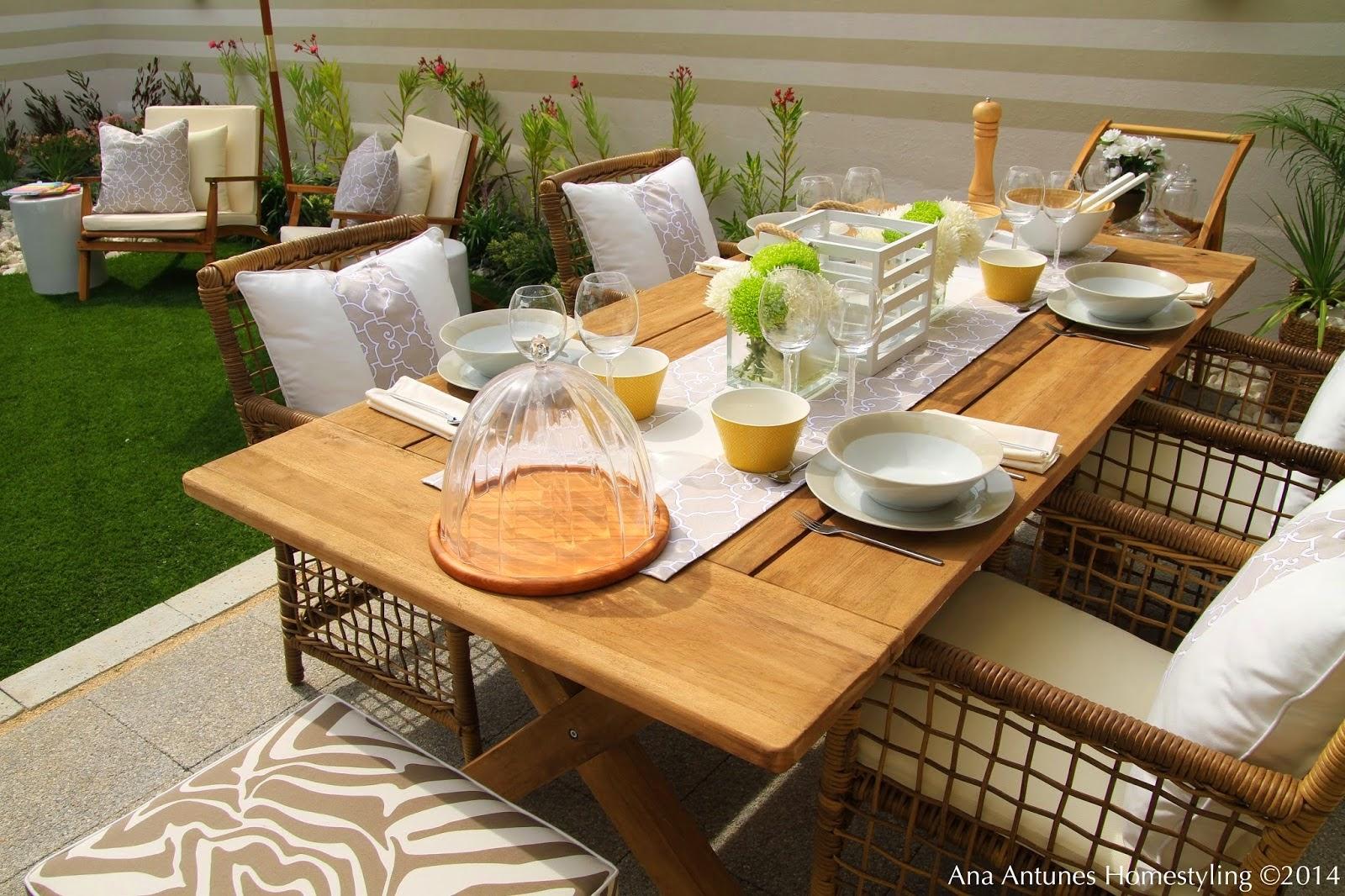 Como decorar um jardim ou terraço