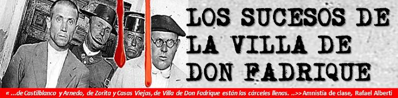 LOS SUCESOS DE LA VILLA DE DON FADRIQUE