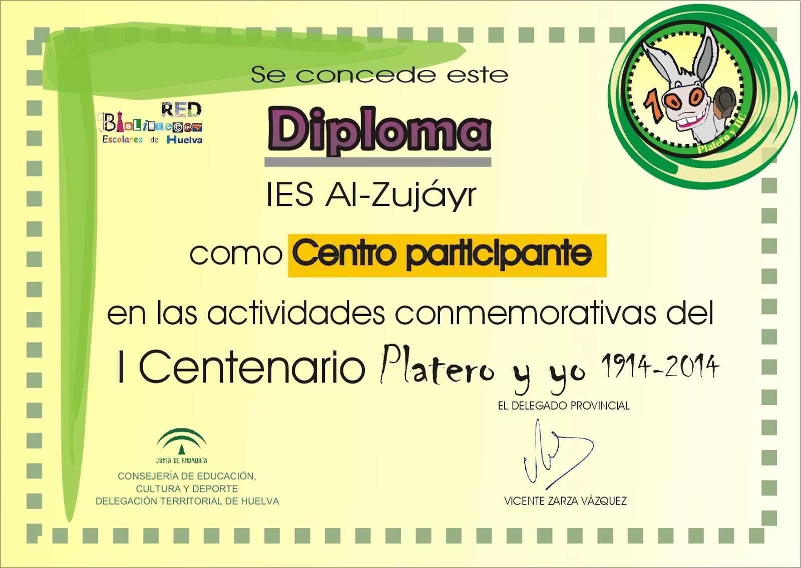 I Centenario Platero y yo