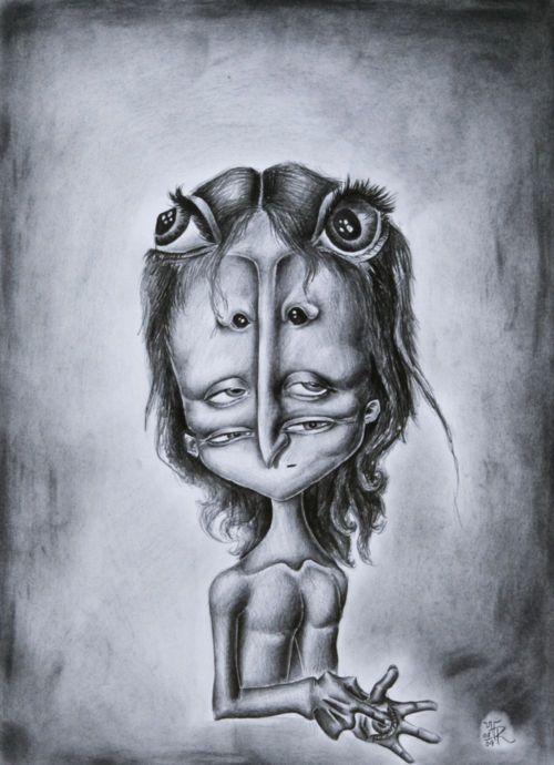 Retrato. / Porträt