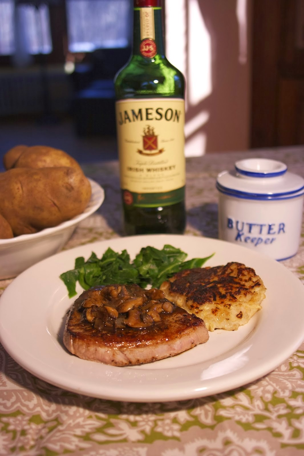 Whiskey Steak: simplelivingeating.com