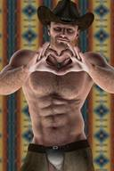 Realistic Awesome Hot Hunks in 3D
