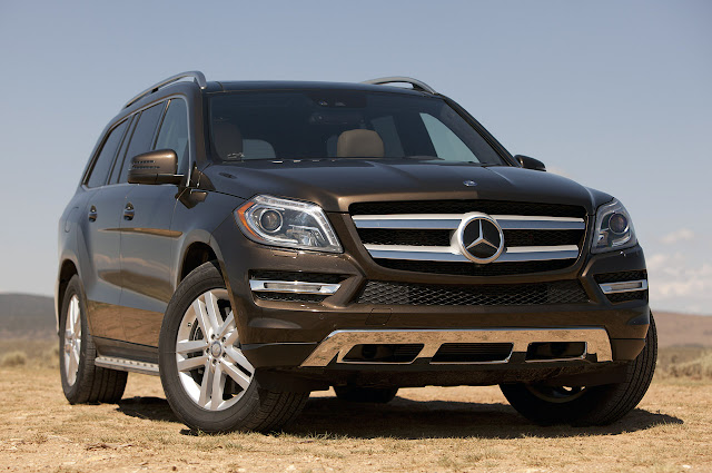картинки Mercedes-Benz GL450 2013 года