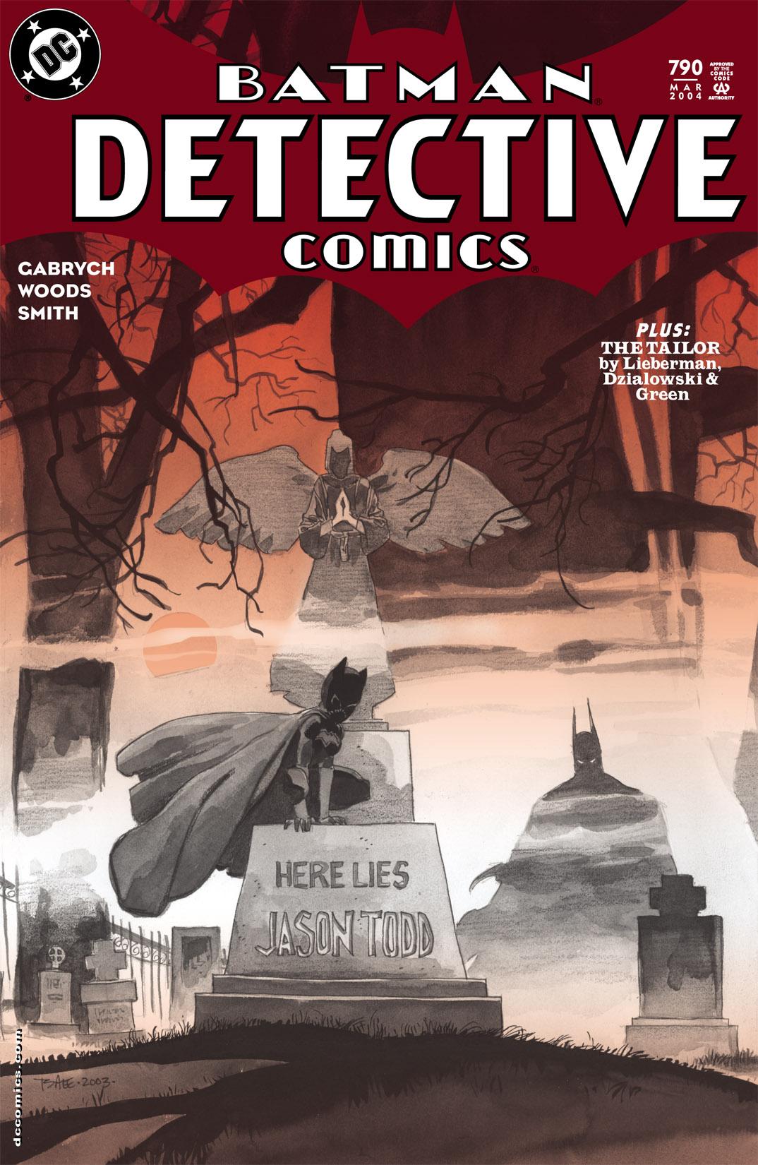 Detective Comics (1937) 790 Page 1