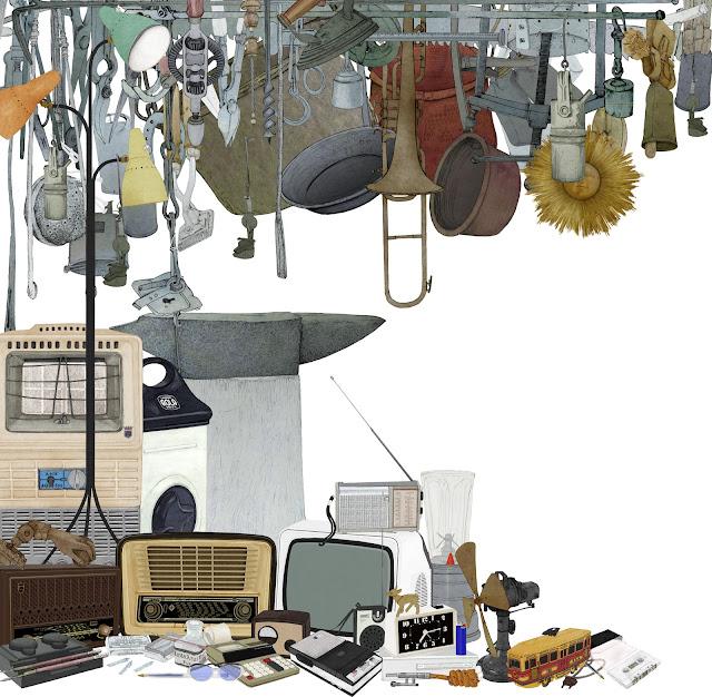 cultura material,colecciones, museo etnologia, dibujo
