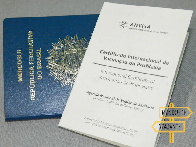 Certificado Internacional de Vacinação ou Profilaxia CIVP