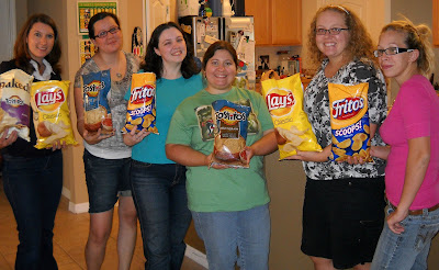 Women with Chips