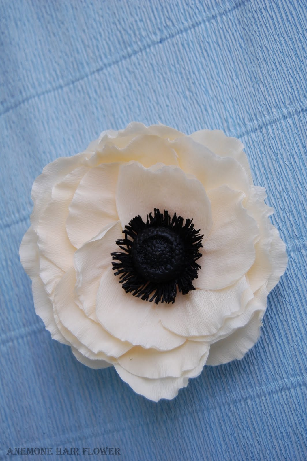 Anemone Wedding Bouquet Paper Flower Bouquet Handmade