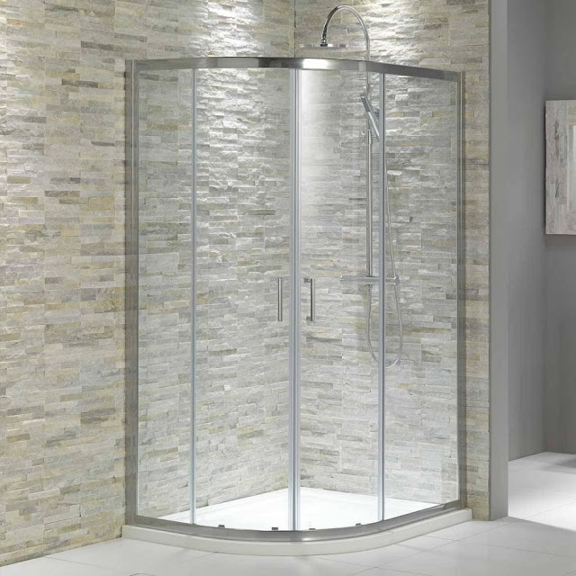 bathroom shower tile patterns design ideas, natural stone pattern
