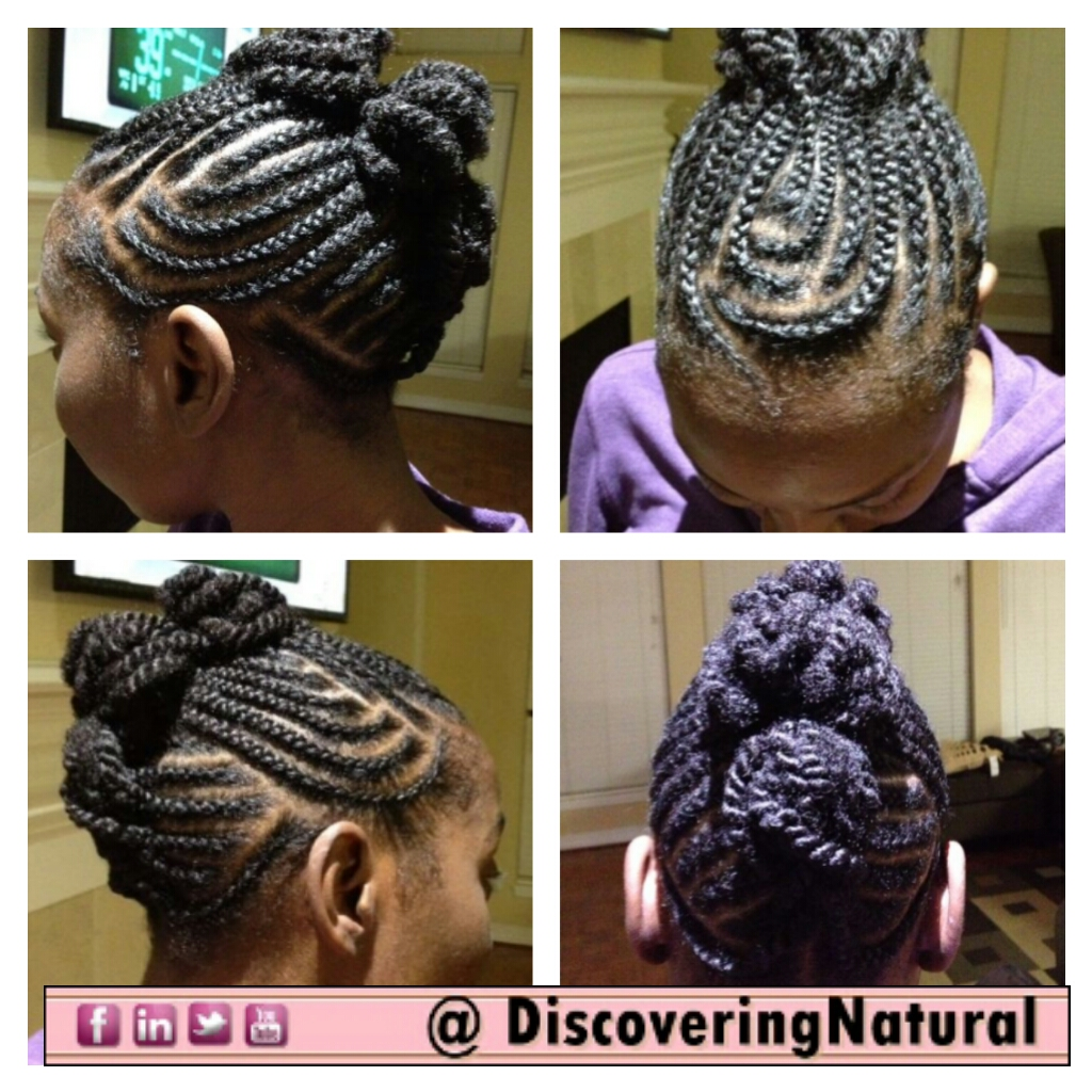 African Hair Braiding Cornrow Styles Mohawk My 2-weeks mohawk style,