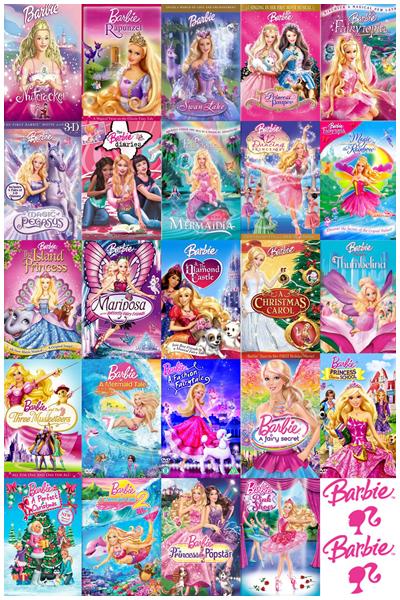 Barbie Kolekcja  (2001-2015)   PL.DVDRip.XviD-N0B0DY-BRY-GHW-V-Team  /  Dubbing PL *dla EXSite.pl*