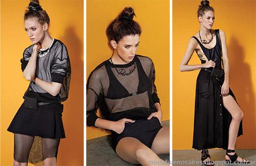 Tendencias de Moda primavera verano 2015 en Argentna. Colección María Cher rimavera verano 2015.