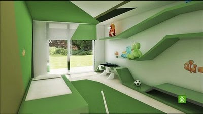 Christiano Ronaldo (CR7) Residence: Child Room