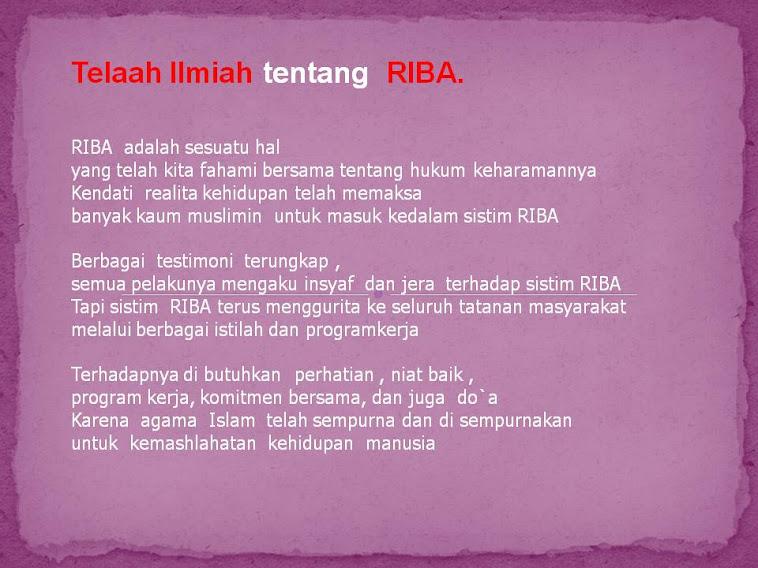 Muhasabah :