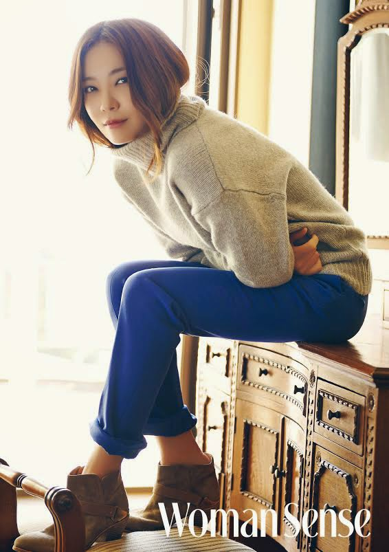 Park Sun Young - Woman Sense Magazine November Issue 2014