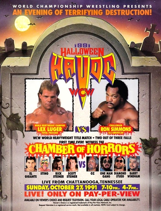 WCW Halloween Havoc 1991 - Event poster