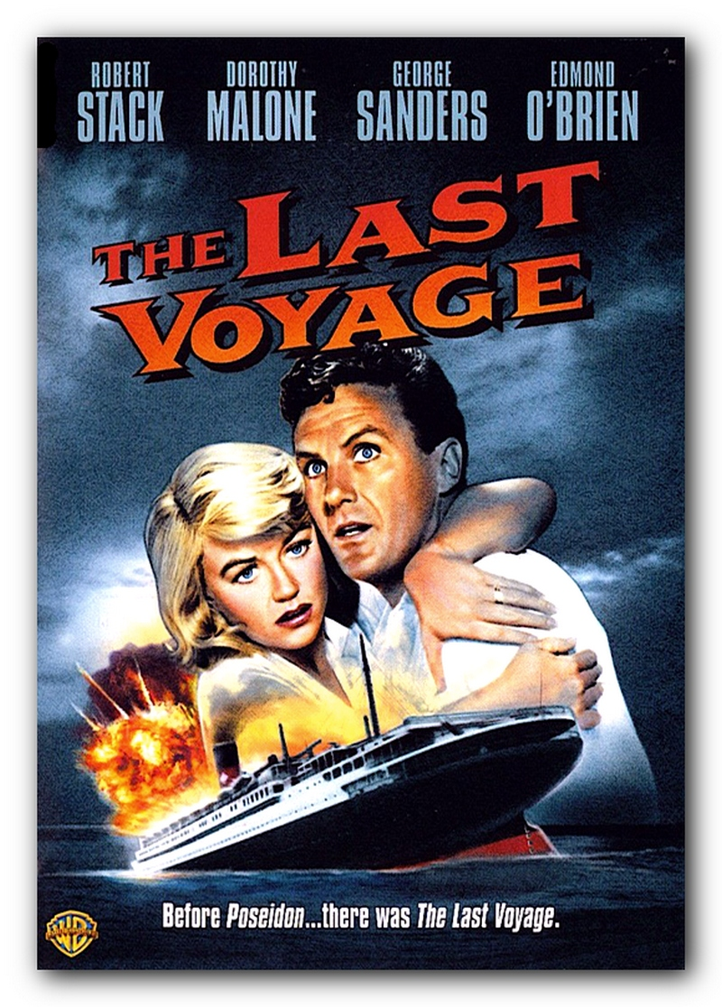 Image result for the last voyage 1960 poster