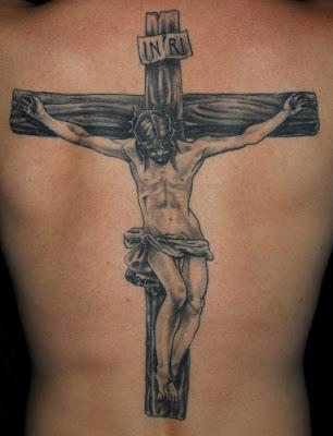 TATUAJES RELIGIOSOS JESUS CRUZ