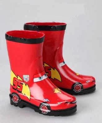 Cars Rain Boots