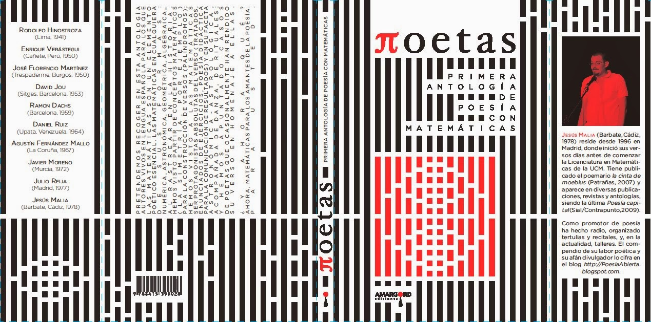 Πoetas. Primera Antología de Poesía con Matemáticas