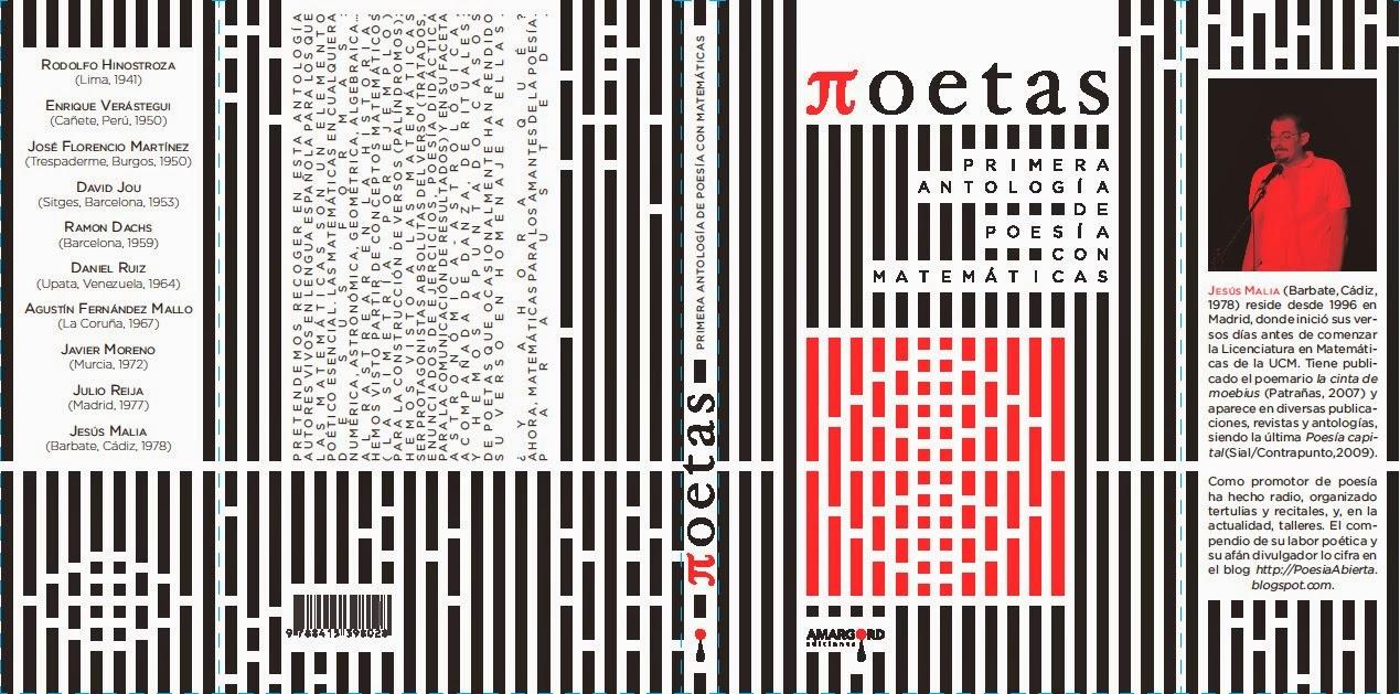 Πoetas. Primera Antología de Poesía con Matemáticas (2012)