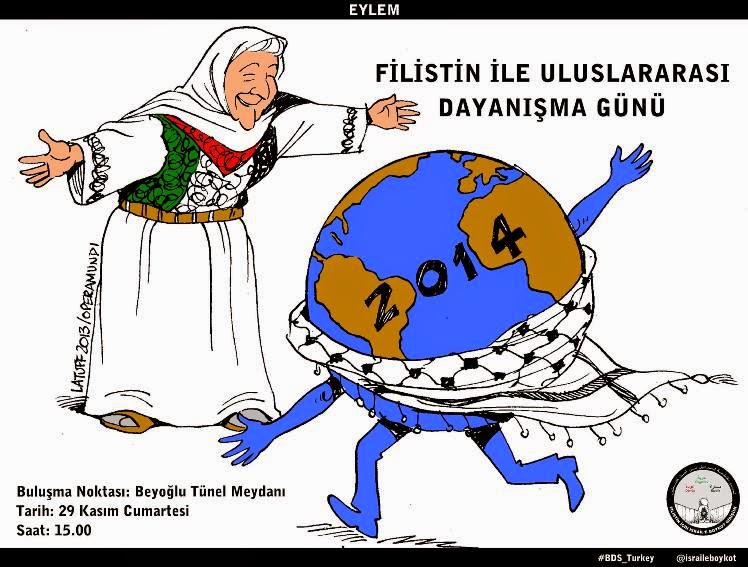 Filistin'le Dayanışma Eylemi