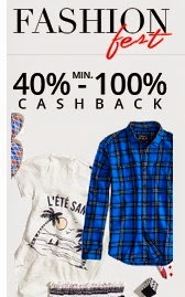 PayTM 100% Cashback Sale – Buy Clothing, Footwear & Accessories @ 100% Cashback