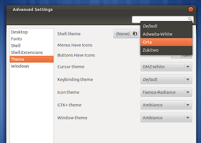 How to Install Themes in GNOME Shell Using User-Theme Extension