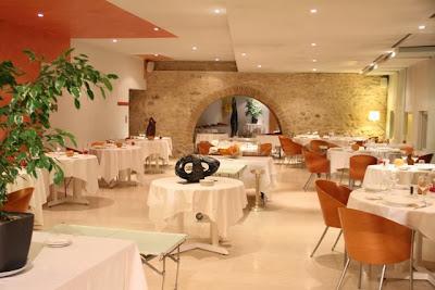 Restaurante de Le Château de Salettes. Blog Esteban Capdevila