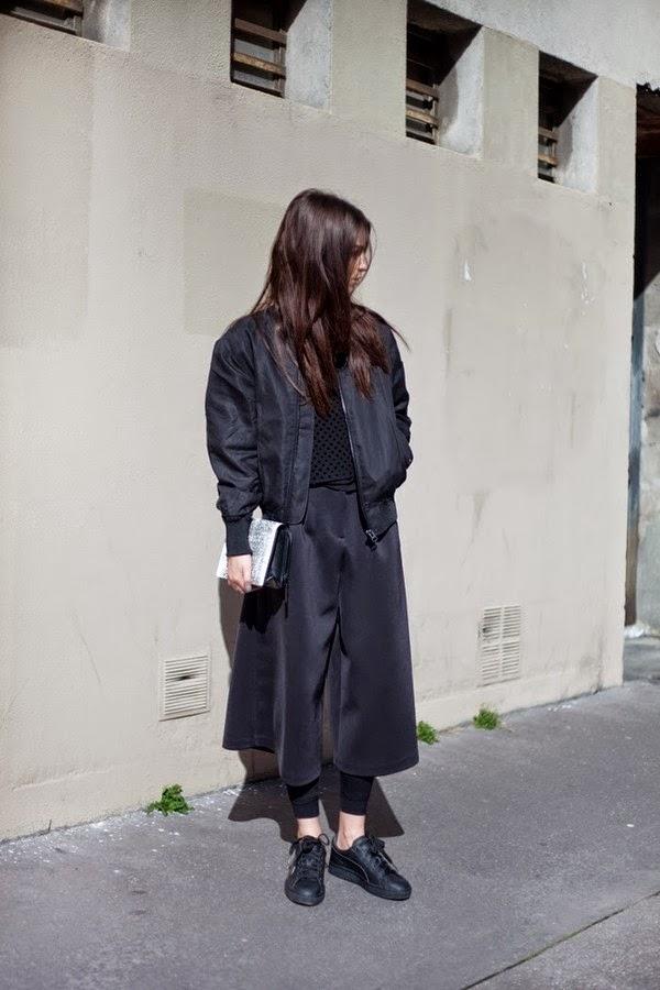 Bomber jackets-street style