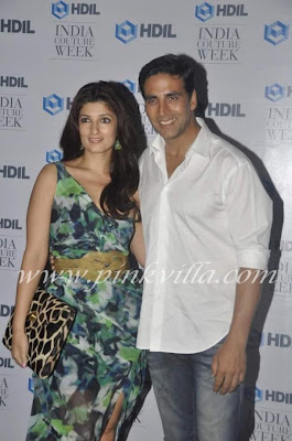 Akshay and Twinkle - Sexy and hot bollywood Couple