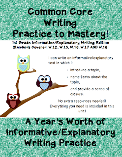how to write an informative text year 9
