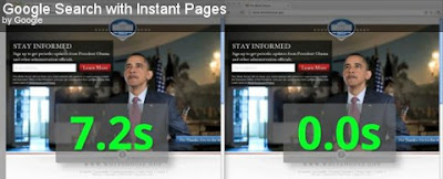 Instant Pages u Google Chrome