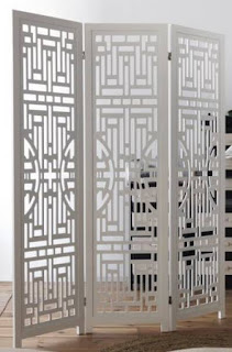 Biombo talla de paneles