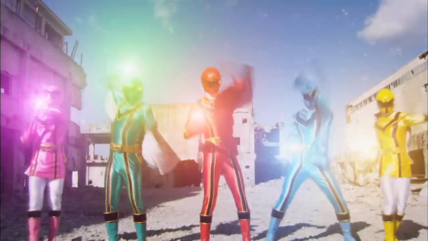 Henshin grid super megaforce gender changes