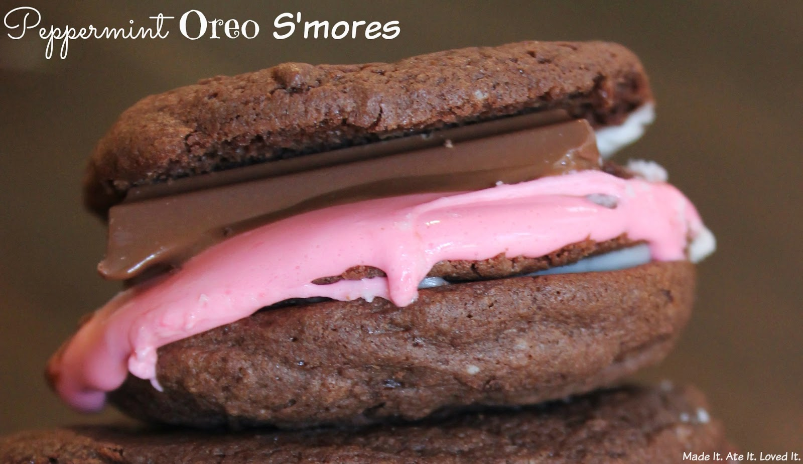 Peppermint Oreo S Mores Made It Ate It Loved It