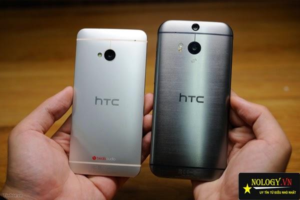 HTC One M7 và M8 - so sánh HTC One M7 và M8