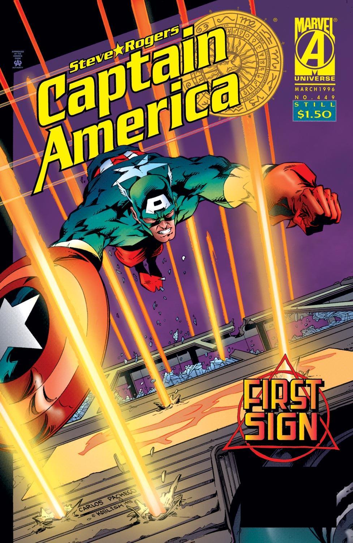Captain America (1968) Issue #449 #403 - English 1