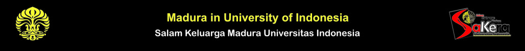 Madura in University of Indonesia